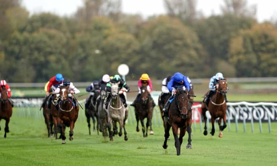 Adayar, seen here winning at Nottingham last October, can land the Classic Trial at Lingfield.