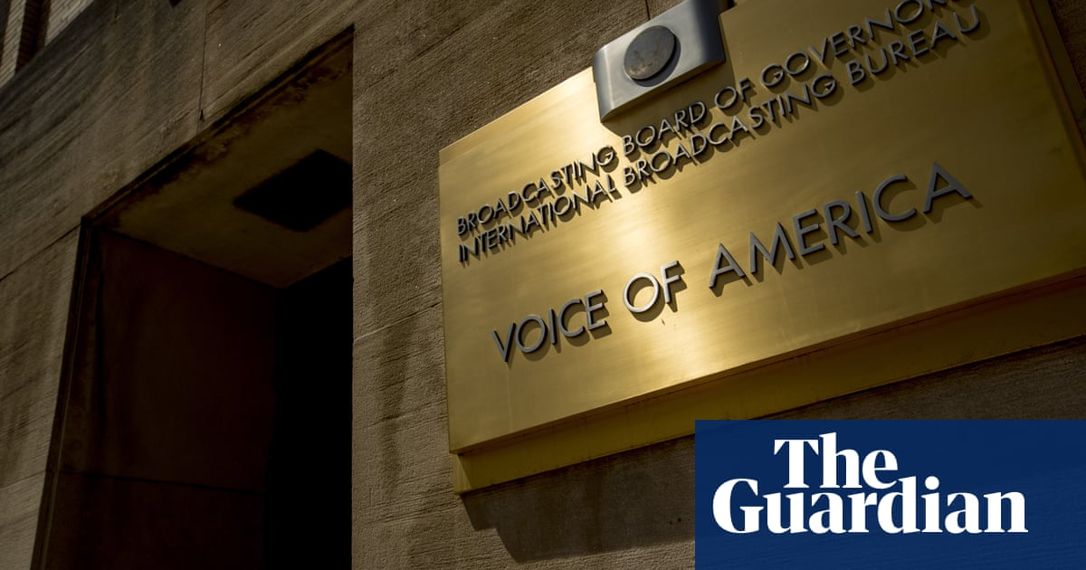 Fears of crackdown on US journalism as Trump ally removes editorial firewall