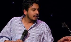 The comedian Ahir Shah