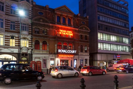 'As tightropes go, it's really tight' … The Royal Court theatre, Sloane Square, London.