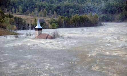 Romania gold mine Canada historical site