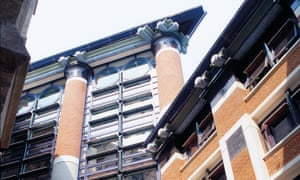 The Judge Business School at Cambridge University was designed by John Outram