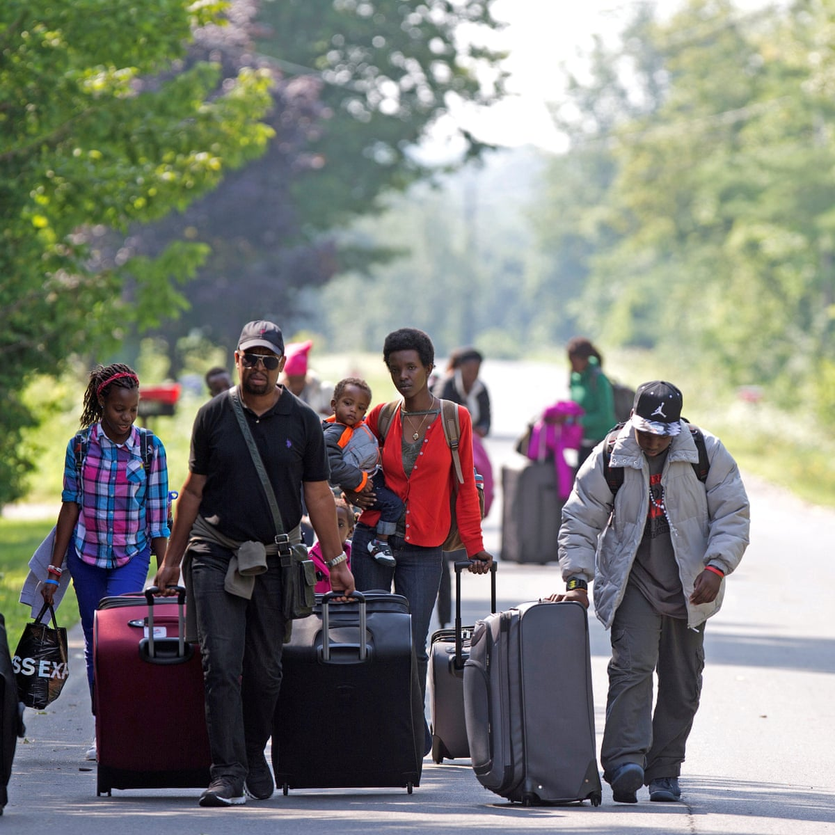 Canada rejecting more refugee claims amid border-crossing increase under  Trump | Canada | The Guardian