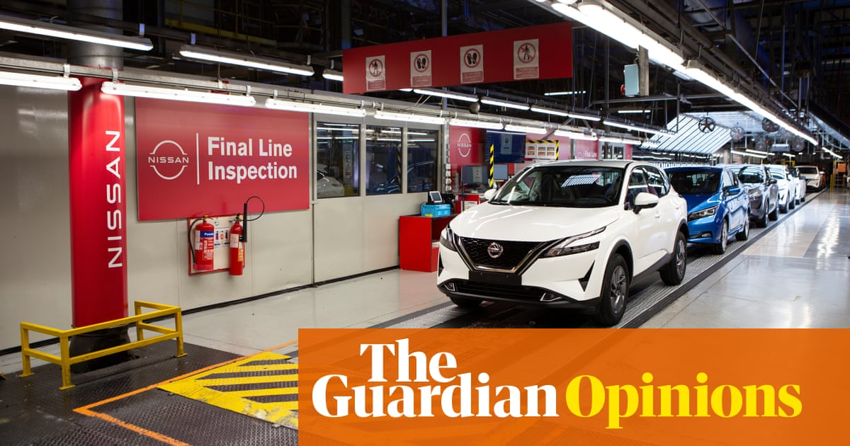 Nissan hasn't put UK ahead in electric race, it's just off the starting grid