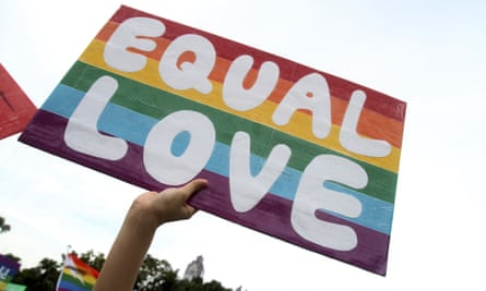 Australian human rights commissioner, Edward Santow, said 'equality before the law would be better reflected in Australian law if civil marriage equality were permitted by our Marriage Act'.