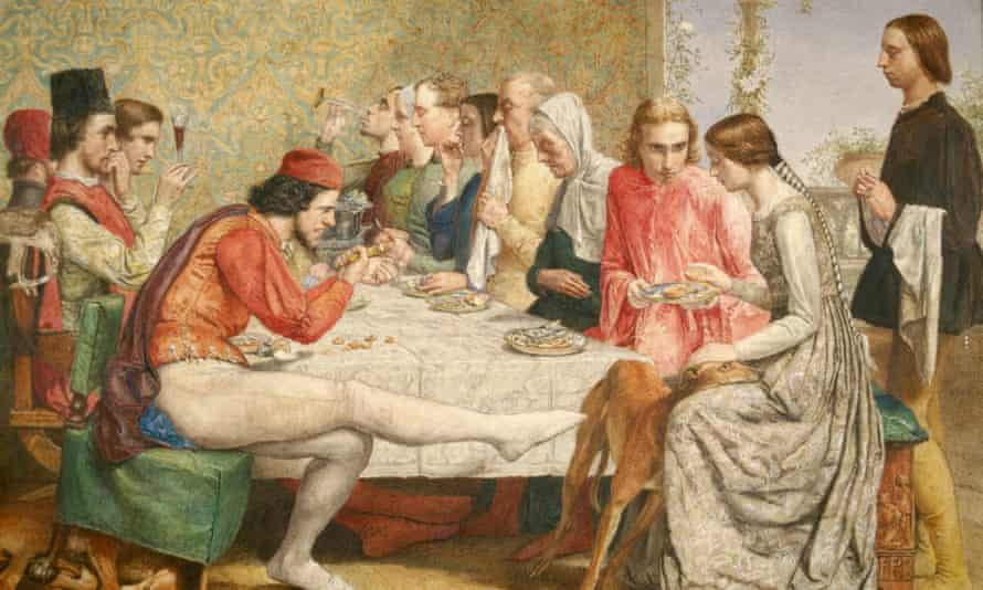 Isabella, 1849, by John Everett Millais