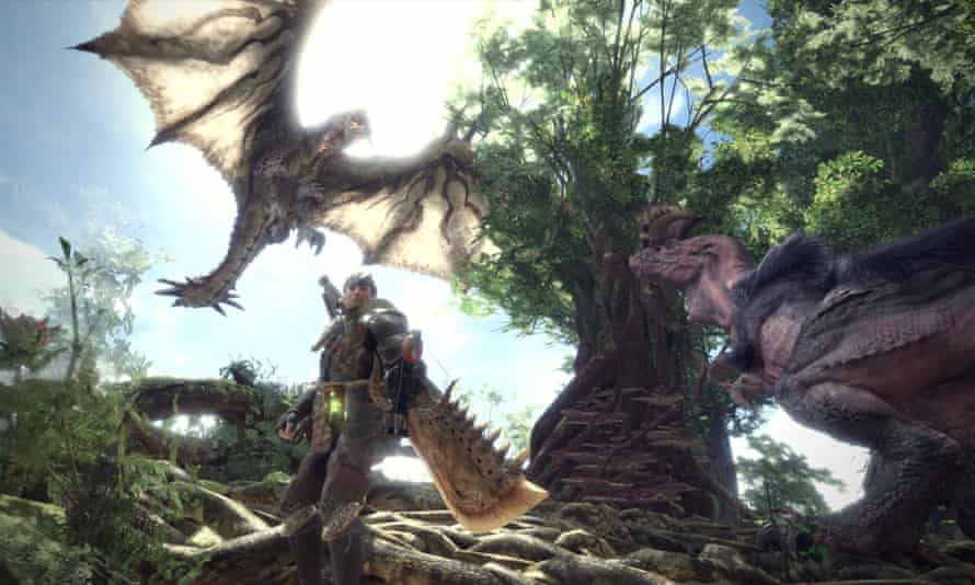 A whole world of Monster Hunter