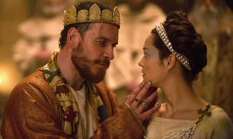 Michael Fassbender and Marion Cotillard in the recent film version of Macbeth.