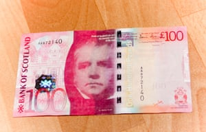 Bank of Scotland £100 note