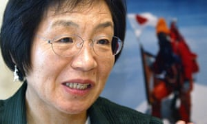 If people wanted to call her 'that crazy mountain woman', Junko Tabei said in an interview, then so be it.