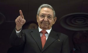 Raul Castro said he hoped the Trump administration would respect the region.