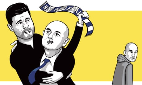 For 13 years Spurs have tried to be more like Arsenal. It's time to do the opposite   Barney Ronay