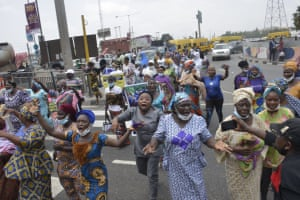 Nigeria Women marched in Lagos to demand better government representation and protest against rising in insecurity, hunger and inequality across the country.