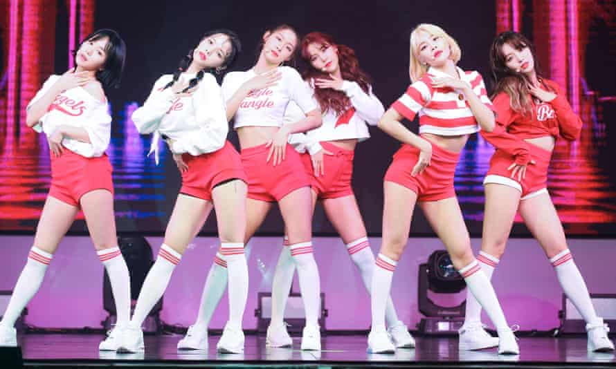 'Tthere's a kind of precariousness that female stars have to live with': South Korean girl group AOA.
