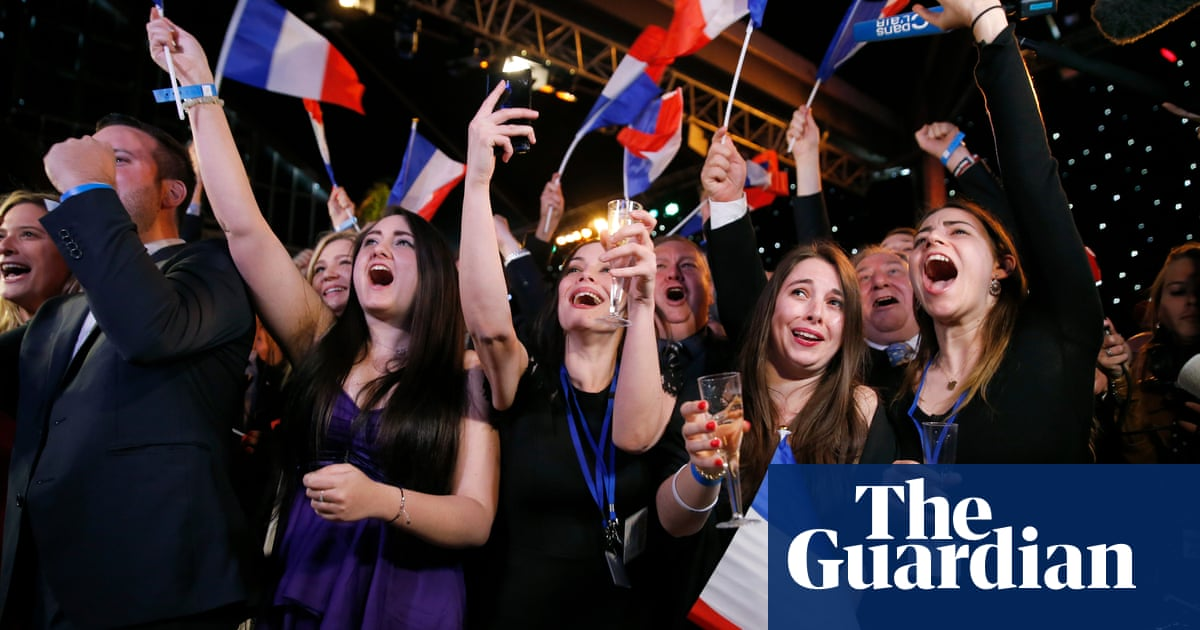 Marine Le Pen ahead of Macron's centrist party, say French exit polls