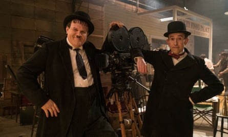 John C Reilly as Oliver Hardy and Steve Coogan as Stan Laurel.