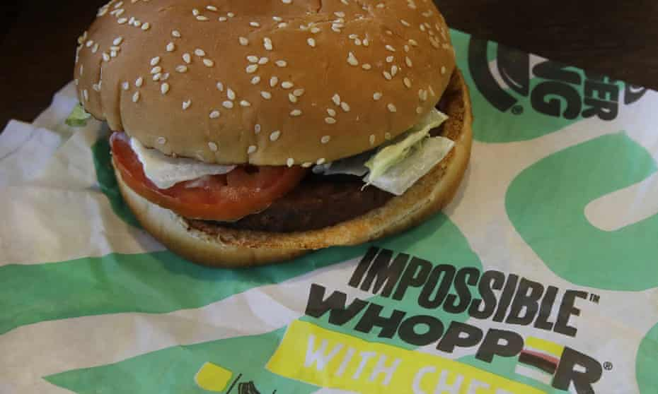 Burger King has not revealed sales figures for the Impossible Whopper but says it is enticing more people to enter its stores.