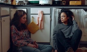 Lily James and Tessa Thompson in Little Woods, directed by Nia DaCosta.