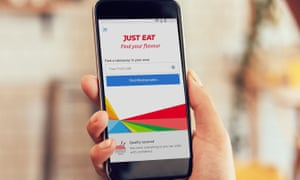 Just Eat mobile phone app
