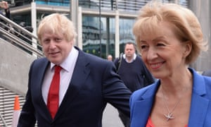 Johnson said Leadsom's role in the Vote Leave campaign made her well-placed to forge a post-Brexit future for Britain.