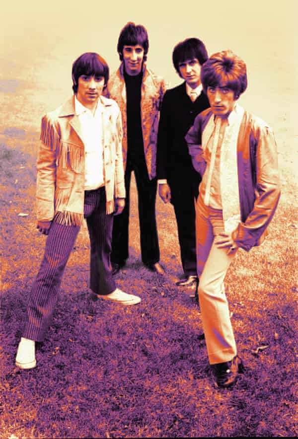 The Who, from left, Keith Moon, Pete Townshend, John Entwistle and Roger Daltrey.