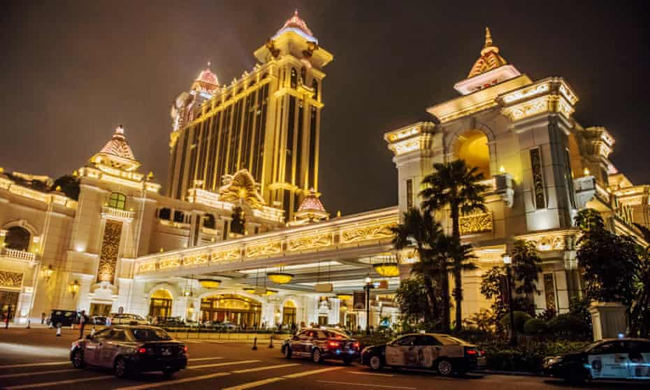 Galaxy Macau casino and hotel