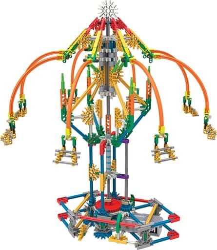 K'nex fairground-ride building set.