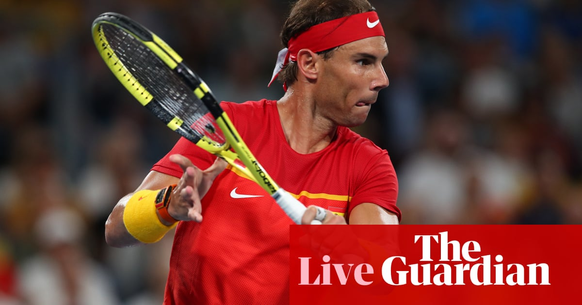 ATP Cup semi-final: Australia v Spain – live!