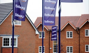 Newly built homes at Bellway Homes' new Keepers Chase housing development in Audenshaw, East Manchester