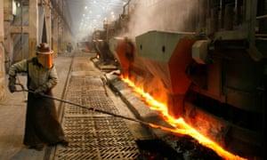 An aluminium smelter