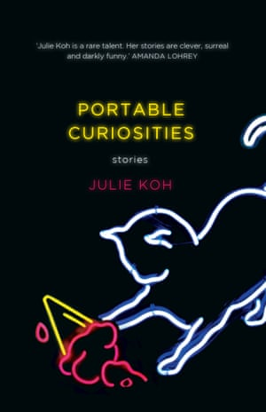 Book cover: Portable Curiosities by Julie Koh