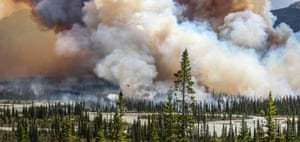 "The environmental photographer of the year 2016 is awarded to Sara Lindström for her imposing photograph 'Wildfire'. Swedish-born Sara picked up photography while studying in South Africa, and is now based in the Canadian Rockies. Her projects have seen her travel across more than 50 countries, capturing the beauty of the more remote corners of the earth. ""It was an exceptionally warm day in July in southern Alberta when I came across this massive pinkish smoke plume rising high towards the sky. The big flames were thriving on the dry land and had me completely mesmerized in fear and awe."""
