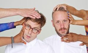Felix Buxton, left, and Simon Ratcliffe of Basement Jaxx.