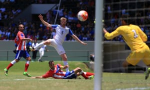Tim Ream put the US ahead in the first-half