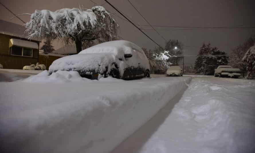 Portland has faced an unusually brutal winter, with temperatures dropping into the teens with record snowfall.