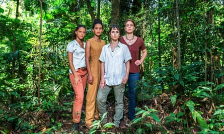 Arunas follows three female activists who search to find out the truth behind a mining company that is illegally exploring for gold on protected land.