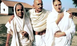 Ben Kingsley as Gandhi
