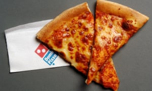 Domino's Pizza shares are slipping.