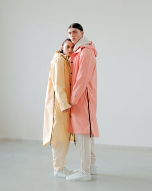 Plenty of bottleAmsterdam's Maium (pronounced my-umm) are self-proclaimed 'bad weather experts'. Their unisex rain jacket – made from 66 recycled PET bottles – quickly transforms into a covering for a bike or scooter via a clever two-way zip. New pastel colourways launch on 9 March. £120, maium.nl