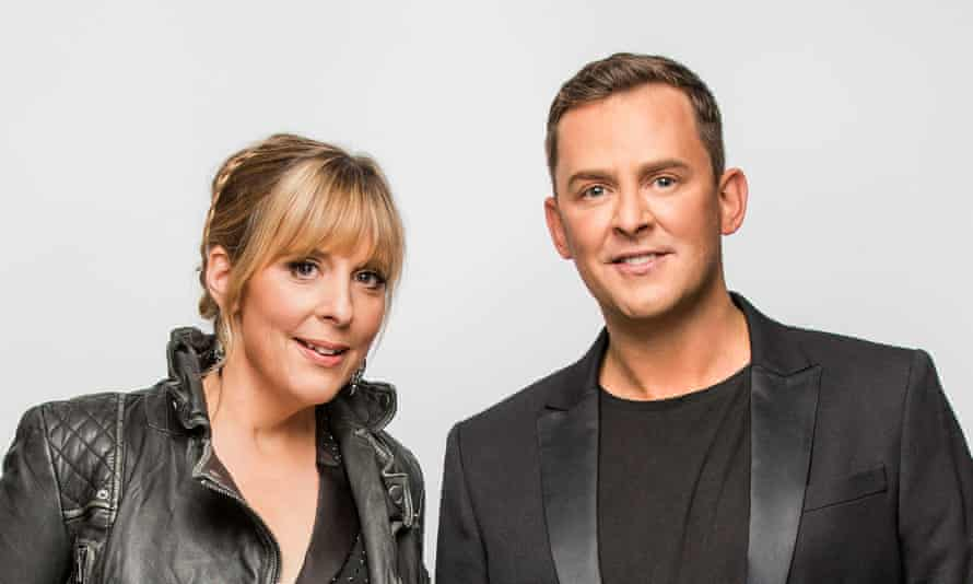 Mel and Scott publicity photo for Eurovision