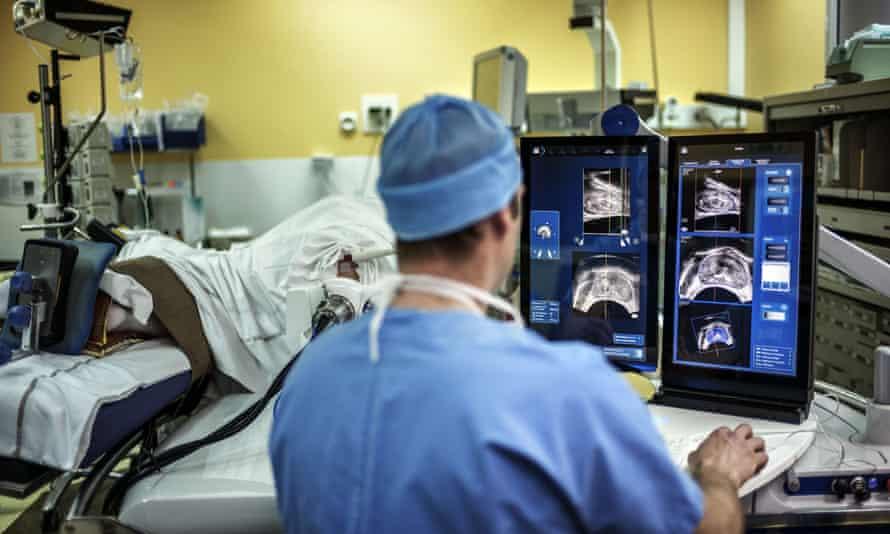 High-intensity ultrasound surgery