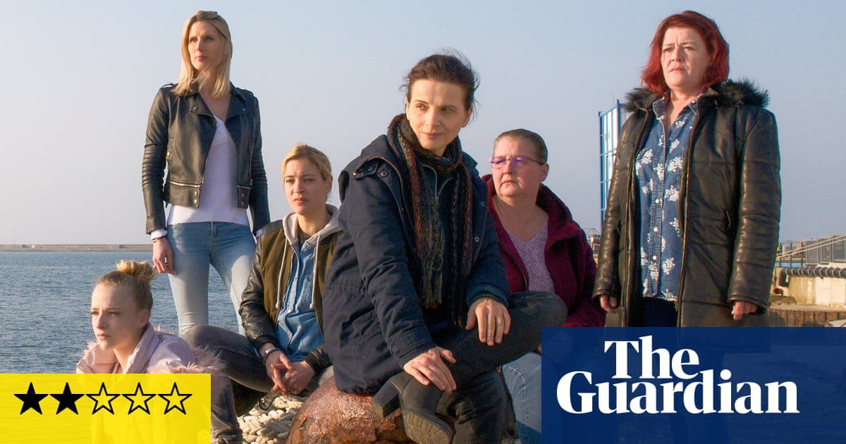 Between Two Worlds review – Juliette Binoche goes undercover in the gig economy