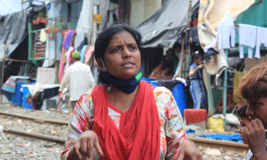 Sujata Sawant, who runs a community kitchen in the Qureshi Nagar slum in Mumbai. 'We are supplying 1,300 meals every day now. And 90% of those who take our food do not have any other source.'