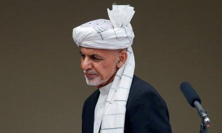 Afghanistan's president, Ashraf Ghani