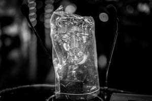 During rehearsals the Bafta awards themselves had to be placed in protective bags to stop any contamination