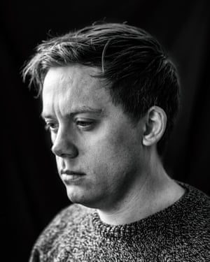 Writer and journalist Owen Jones photographed at his home in London.