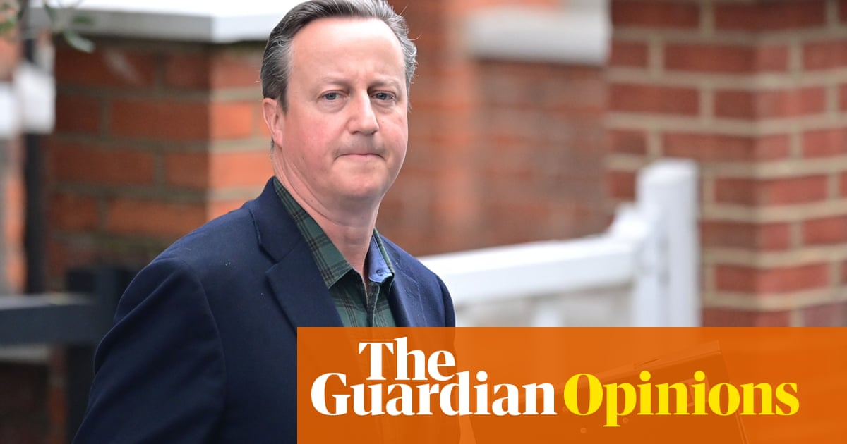 Cameron's clever defence: that he can't do a proper job after leaving office either