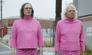Grease is the word: Sky Elobar and Michael St Michaels in The Greasy Strangler.