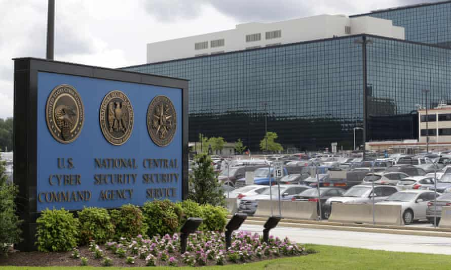 The NSA campus in Fort Meade, Maryland