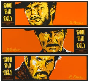 A poster for The Good, the Bad and the Ugly